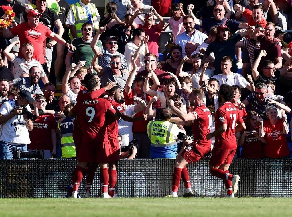 Hasil Liga Inggris: Liverpool Kalahkan Cardiff 2-0