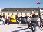 Meriahnya Pasar Paskah di Halaman Istana Schonbrunn Austria