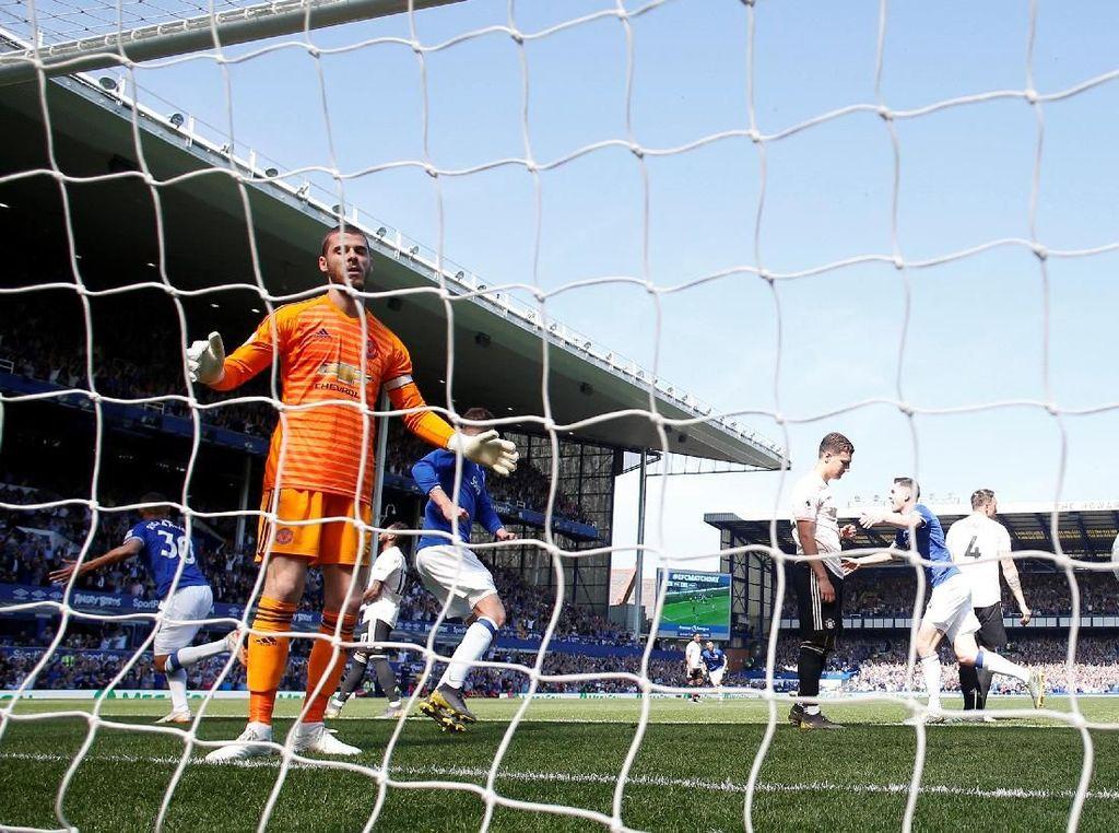 Hasil Liga Inggris: Everton Vs Man United 4-0