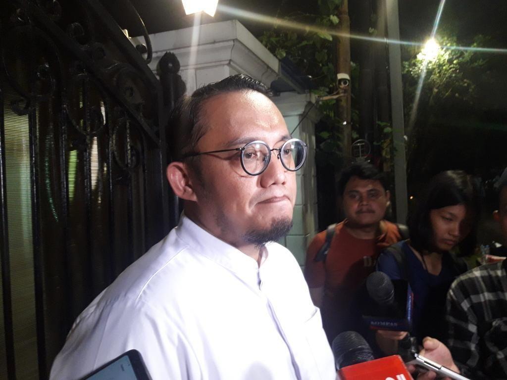 Koordinasi soal Data C1, Dahnil Anzar-Sudirman Said Temui Sandiaga