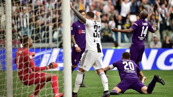 Juventus mengalahkan Fiorentina. (Foto: Massimo Pinca/Reuters)