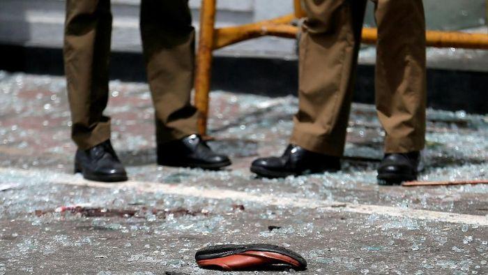 Sri Lanka diguncang serangan teror yang menewaskan ratusan orang pada Minggu (21/4/2019) atau tepat pada hari Paskah. (Foto: REUTERS/Dinuka Liyanawatte)