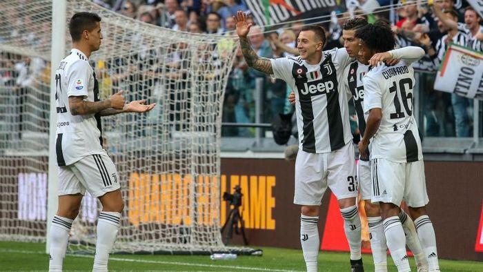Juventus berhasil merebut scudetto 2018/2019. (Foto: Giampiero Sposito/Getty Images)