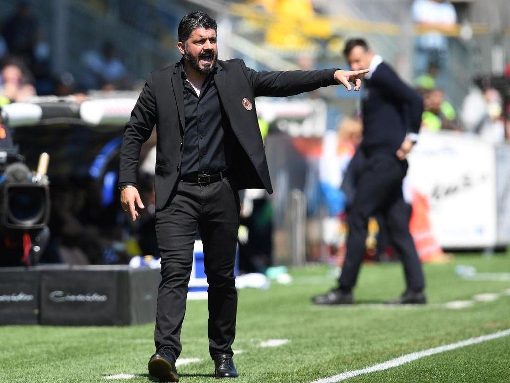 Sesal Gattuso Lihat Parma Lebih Punya Tekad daripada Milan