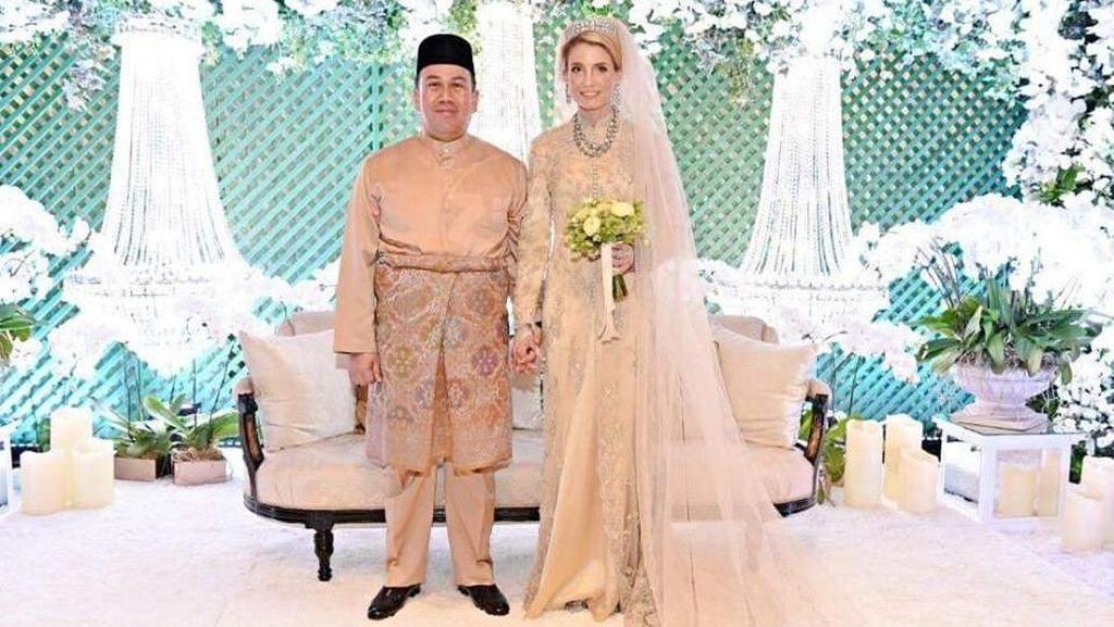 Intip Pernikahan Mewah Pangeran Malaysia dan Mantan Pengasuh dari Swedia