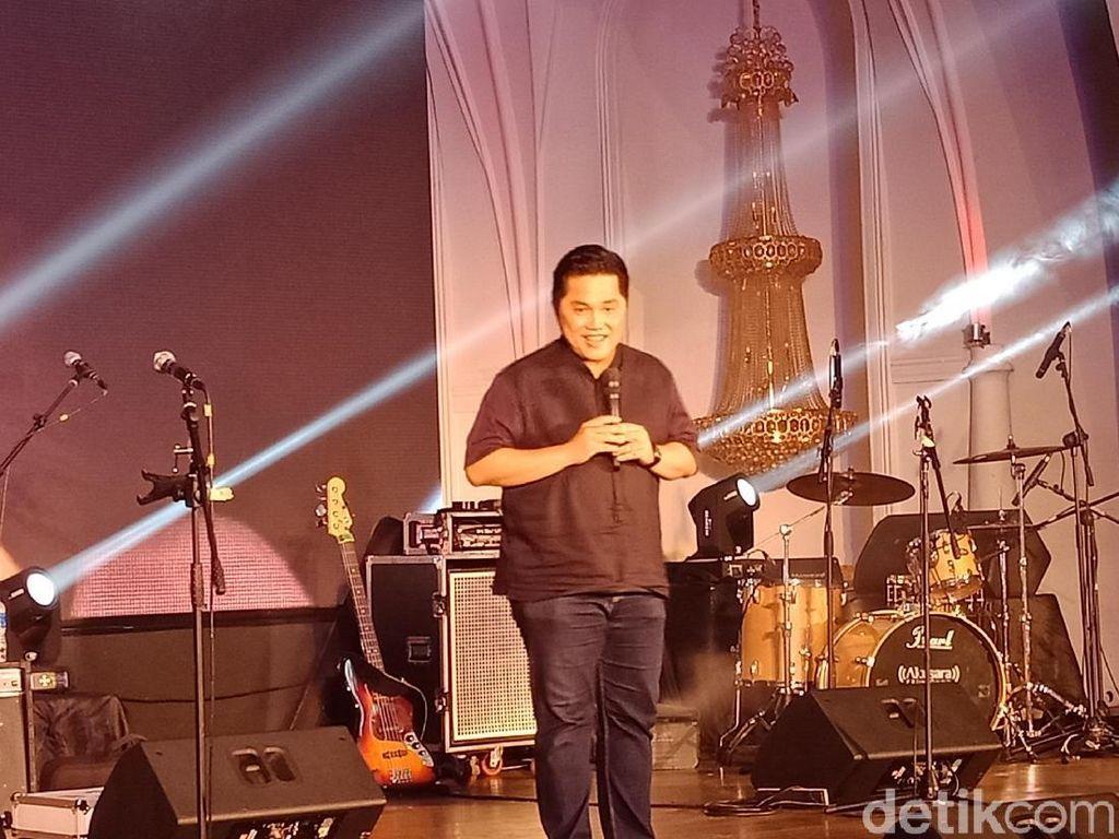 Erick Thohir: Gerakan Milenial Naikkan Suara Jokowi 7 Persen