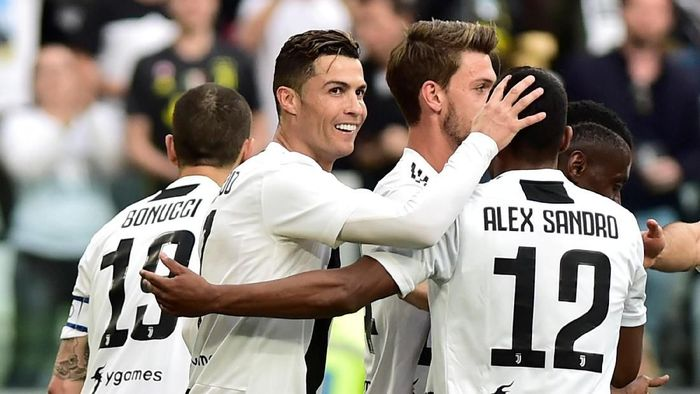 Cristiano Ronaldo diklaim membuat beberapa pemain Juventus menderita dan kesulitan di lapangan. (Foto: Massimo Pinca/Reuters)