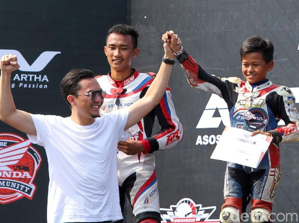 Top! Bocah Kelas 6 SD Ini Juara di Indonesia CBR Race Day
