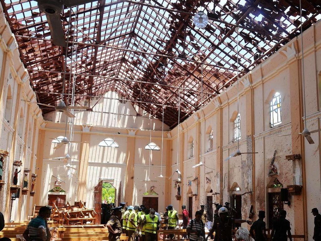 Pemerintah Sri Lanka Umumkan Keadaan Darurat Usai Rentetan Bom Paskah
