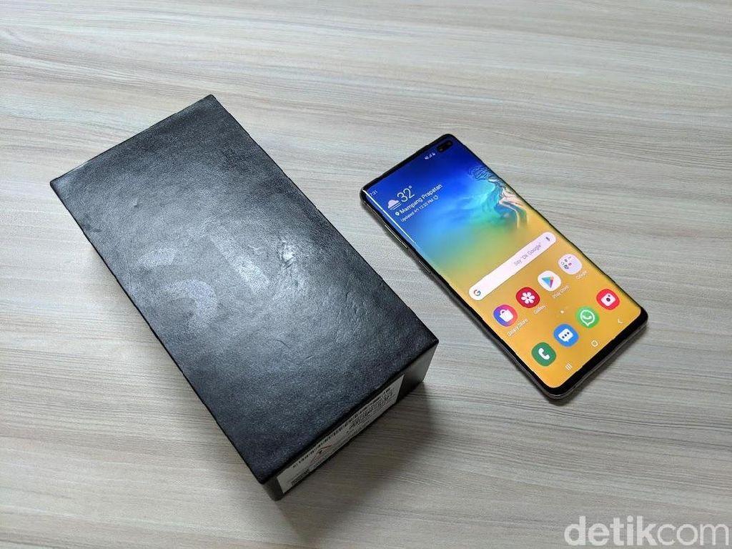 Pabrik Tutup, Samsung Bagi-bagi Galaxy S10+ ke Karyawan
