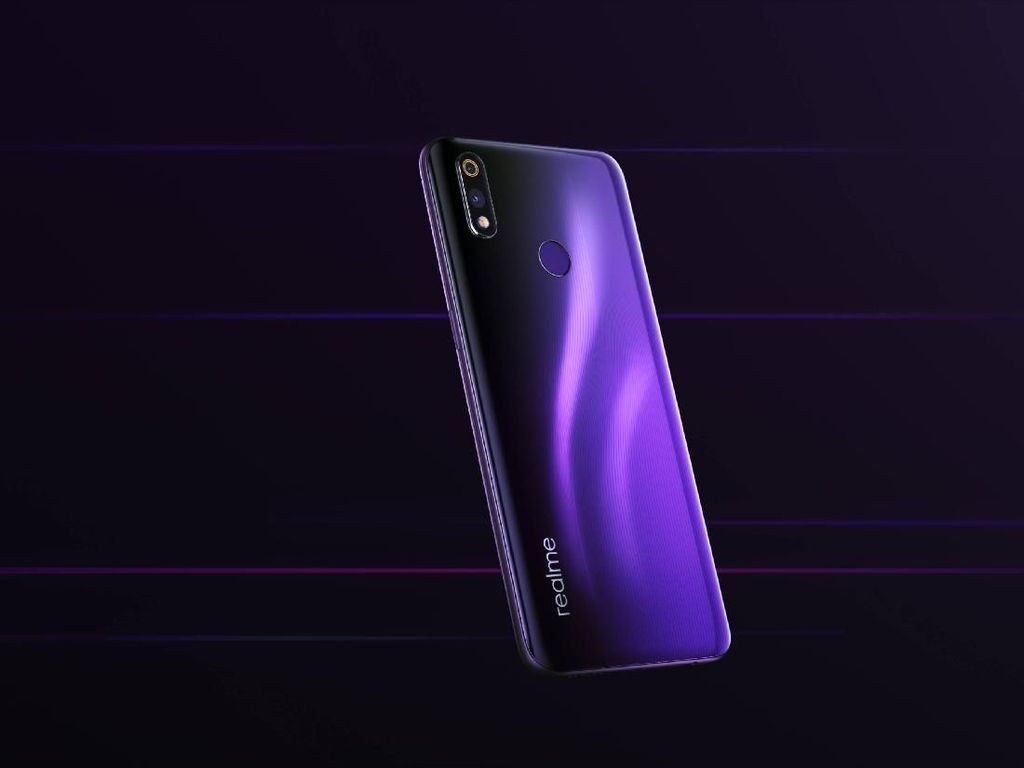 Wujud Realme 3 Pro, Ponsel Snapdragon 710 Seharga Rp 2 Jutaan