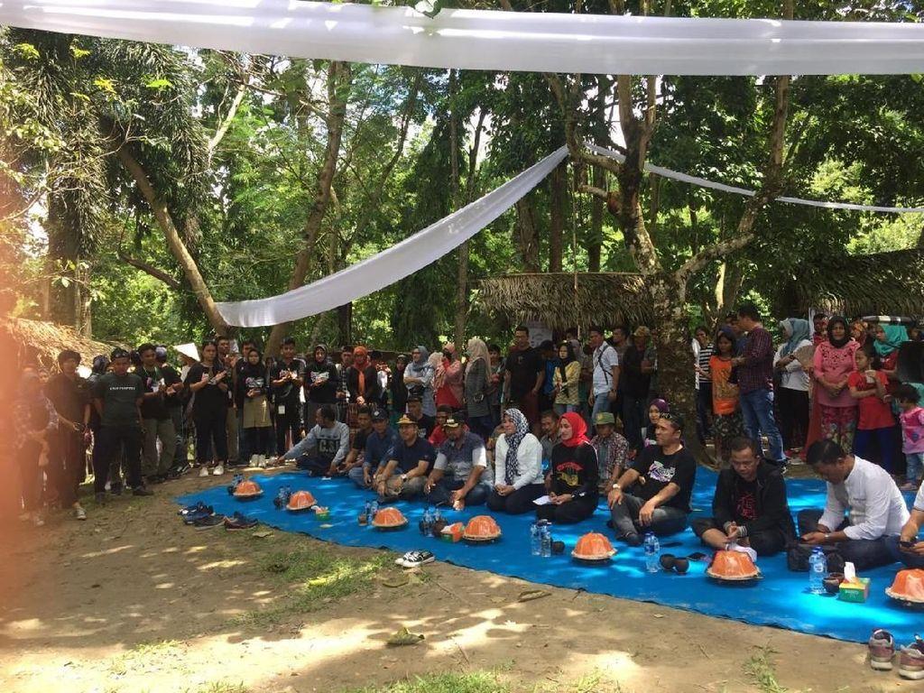 GenPI Luwu Utara Buka Wisata Kuliner Tradisional di Pasar Sirenden