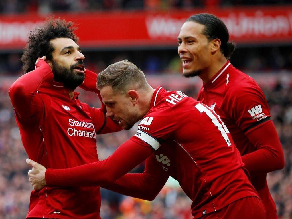 Liverpool Kalem Saja Man City Kini di Depan