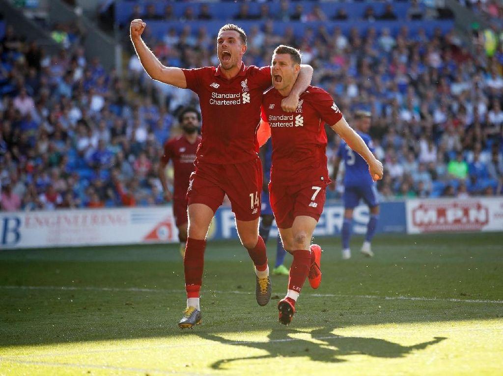 Tekanan Persaingan Gelar Asyik Sekali untuk Liverpool