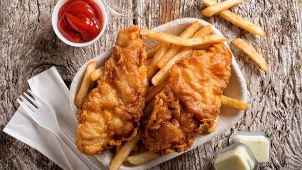 ilustrasi makanan cepat saji dan risiko depresi anak