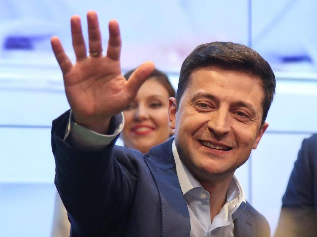Pelawak Ukraina, Dulu Akting Jadi Presiden Kini Jadi Presiden Sungguhan