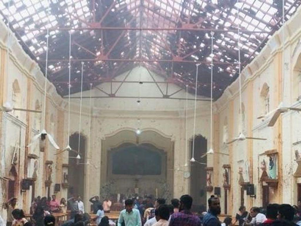 7 Orang Ditangkap Usai Serangan Bom di Gereja dan Hotel Sri Lanka