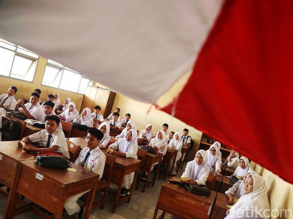Begini Suasana UNBK SMP di Jakarta Utara
