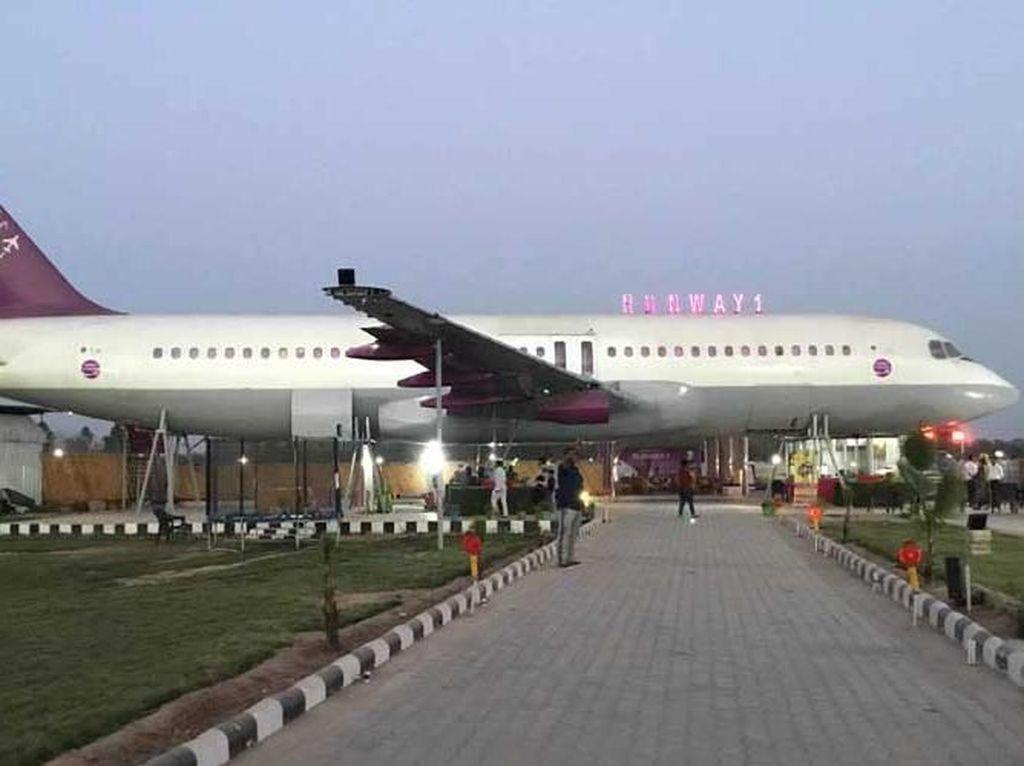 Begini Jadinya Kalau Pesawat Airbus Diubah Jadi Restoran
