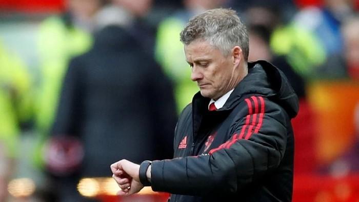 Perjalanan Ole Gunnar Solskjaer sebagai manajer Manchester United sudah berat sejak pramusim. Bagaimana saat kompetisi dimulai nanti? Foto: (Reuters/Carl Recine)