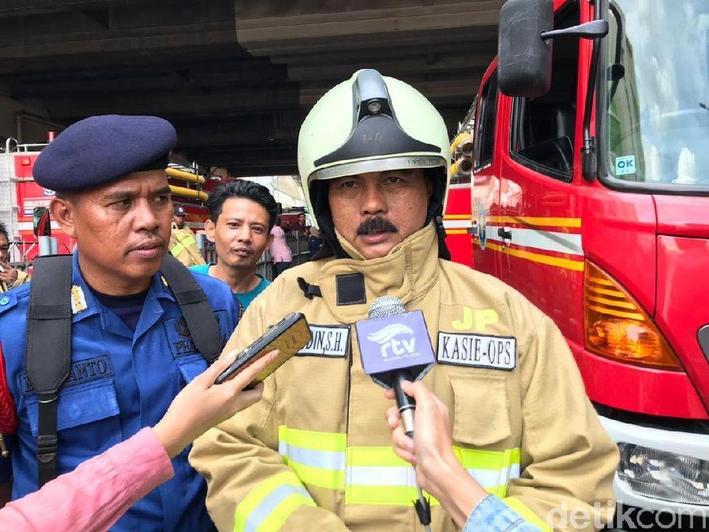 Kebakaran Blok C Tanah Abang Sudah Padam, Kondisi Aman