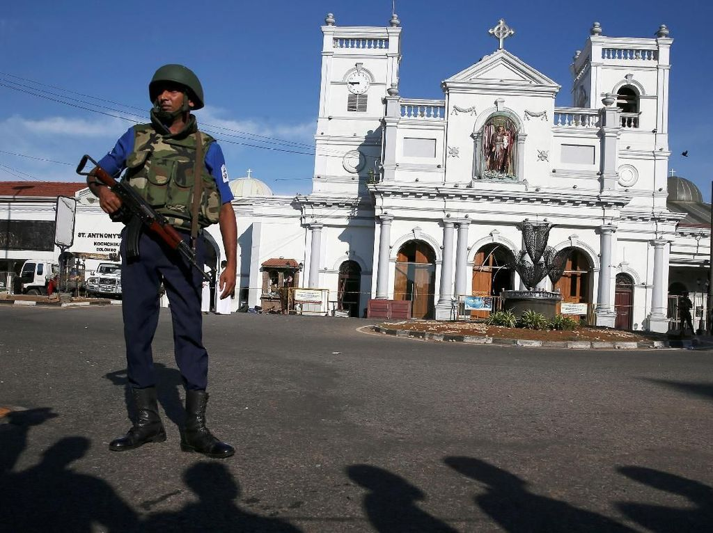 Cendekiawan Saudi Diciduk Terkait Pelaku Bom Paskah Sri Lanka