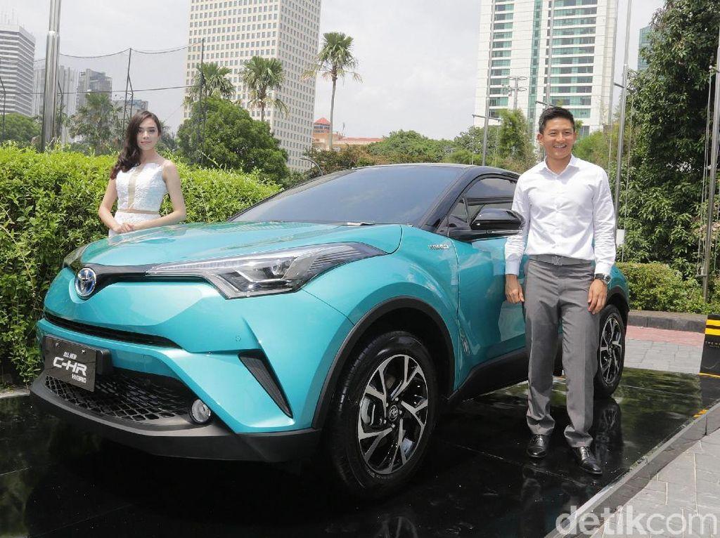 Rio Haryanto: Toyota C-HR Hybrid Setara Eropa