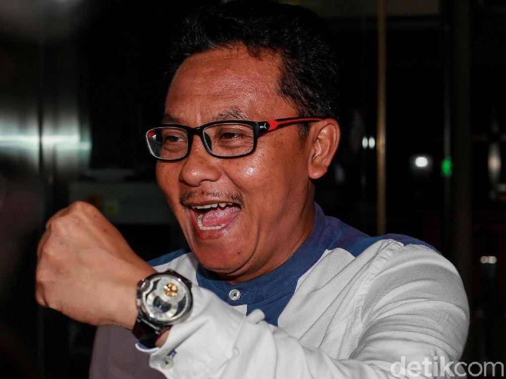 Gaya Wali Kota Malang Saat Diperiksa KPK