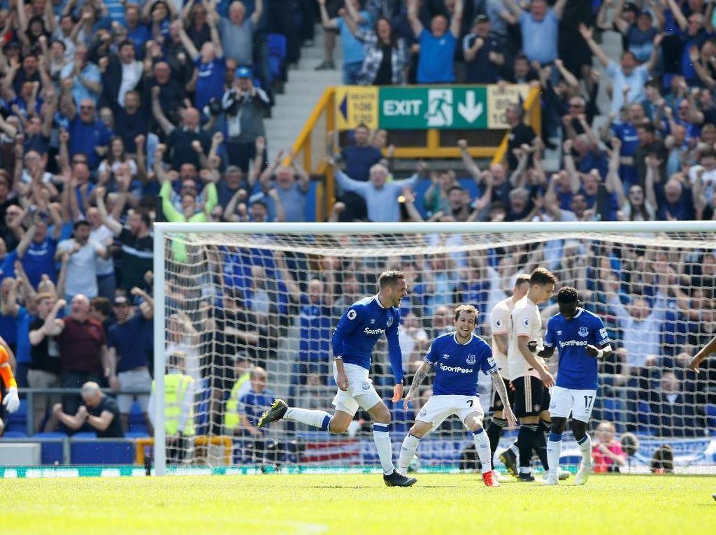 4 Gol Everton yang Bikin MU Melongo