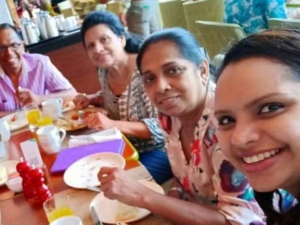 Chef Sri Lanka Jadi Korban Bom Setelah Selfie Bersama Keluarganya
