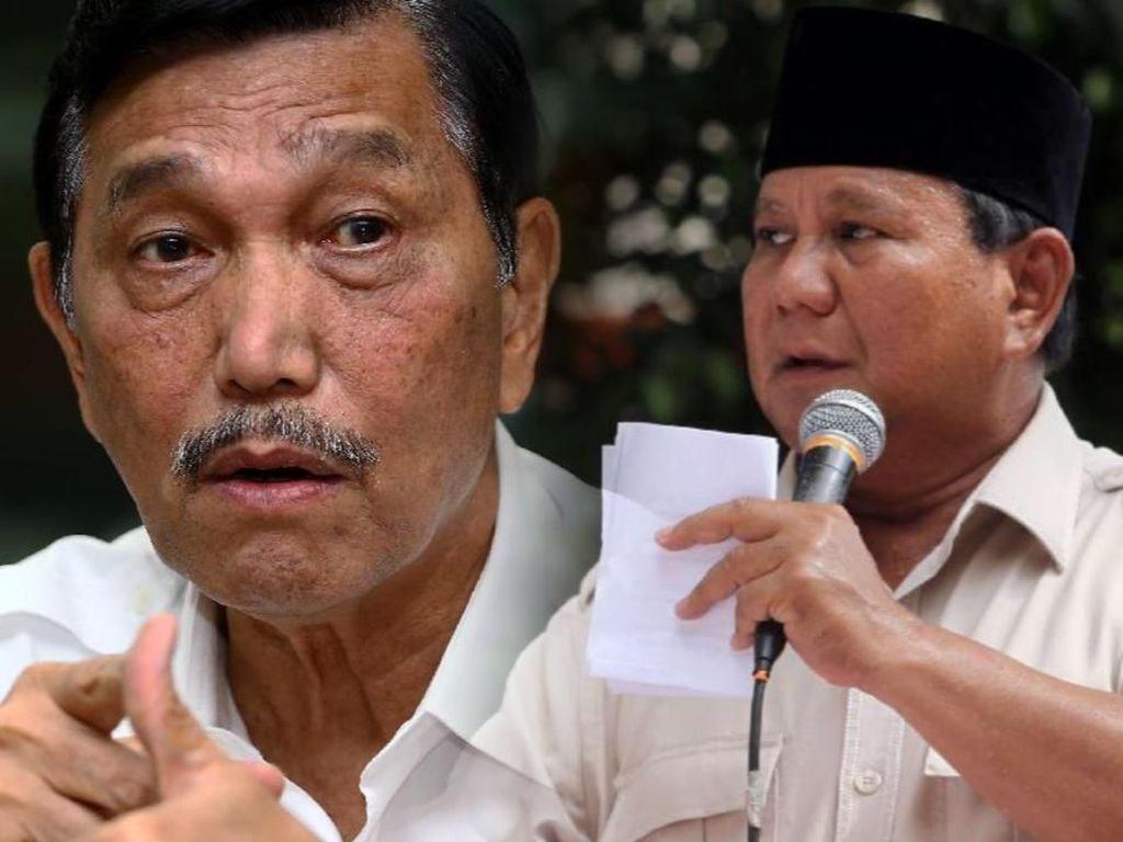 Di-Bully Penakut Bareng Prabowo, Luhut Cerita Hampir Mati di Perang
