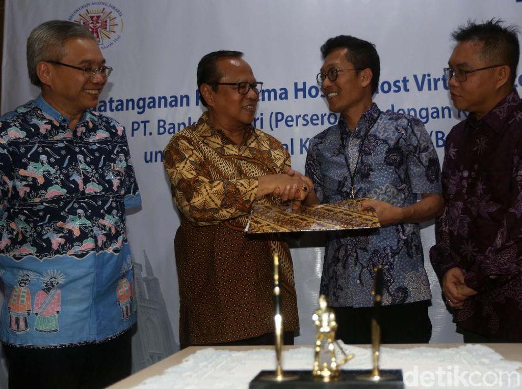 Bank Mandiri Gandeng Keuskupan Agung Jakarta