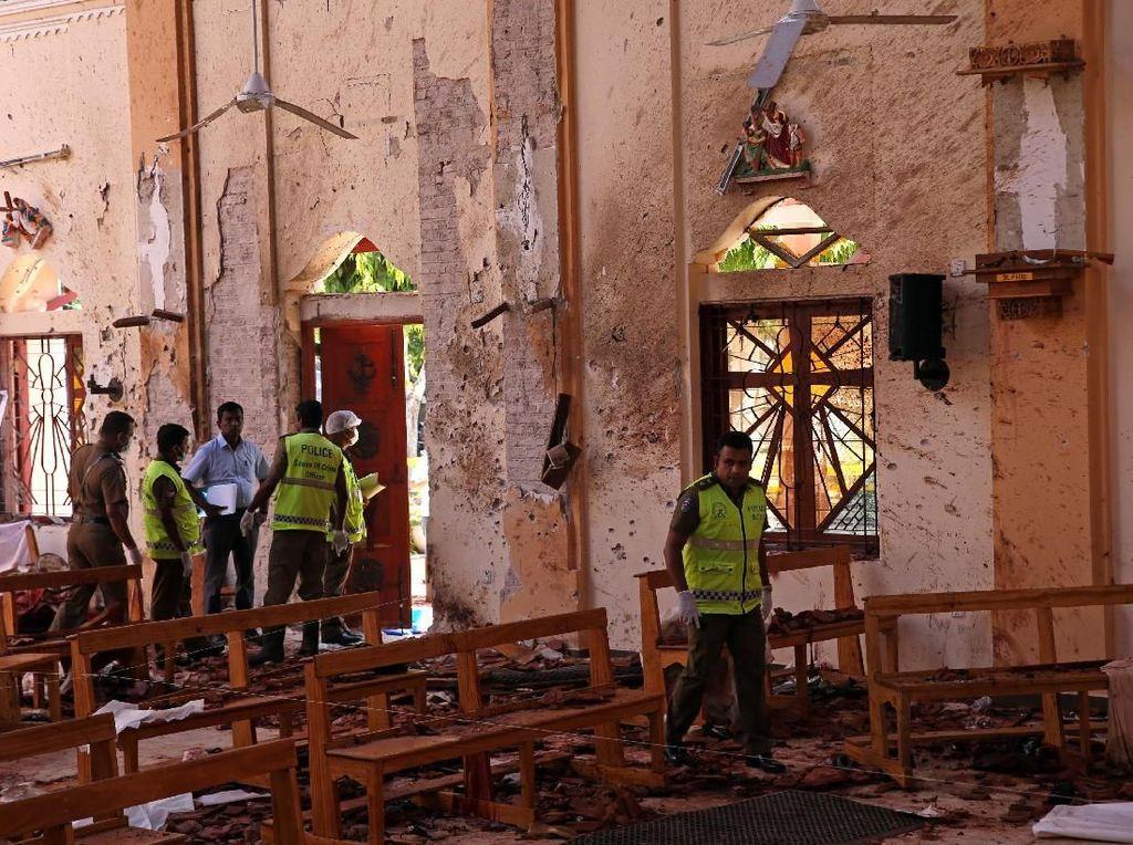 Militan Lokal di Balik Bom Gereja Sri Lanka