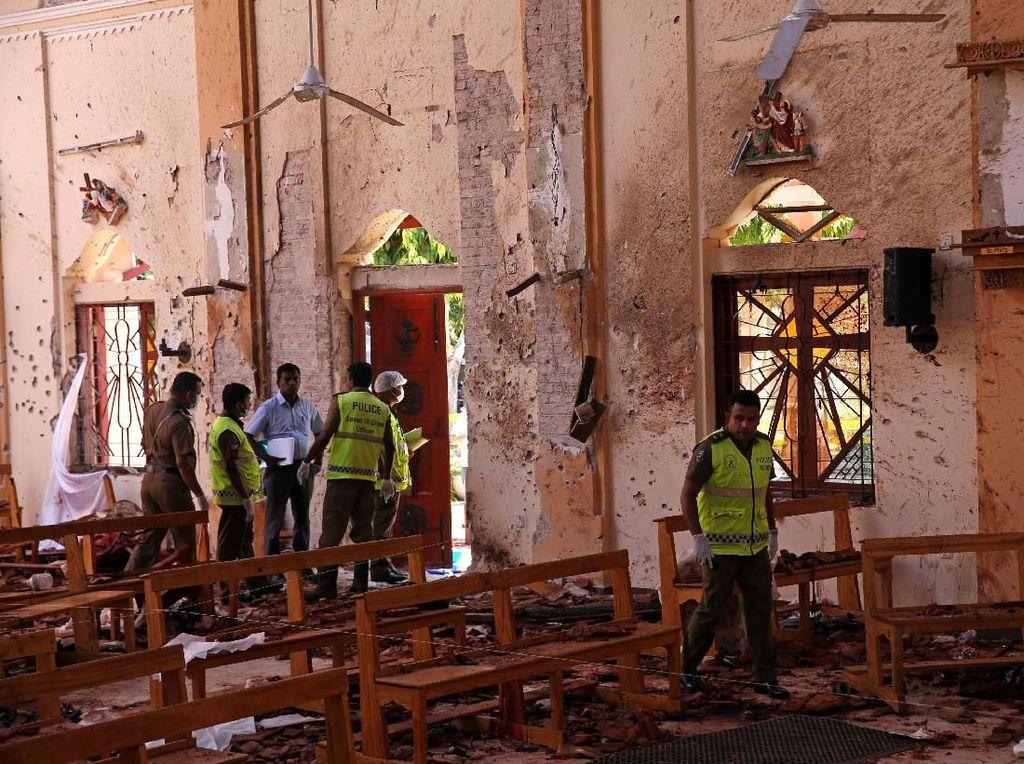 Video: Polisi Mulai Identifikasi Korban Ledakan Bom Sri Lanka