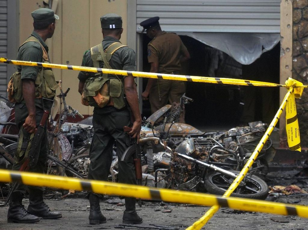 5 Tersangka Bom Paskah di Sri Lanka Dideportasi dari Arab Saudi