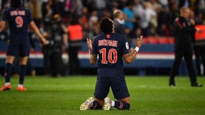 Pemain Paris Saint-Germain, Neymar. (Foto: Franck Fife/AFP)