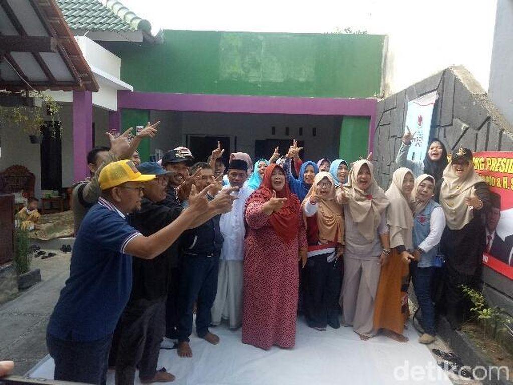 Relawan Pendukung Prabowo-Sandi di Banyuwangi Deklarasi Kemenangan