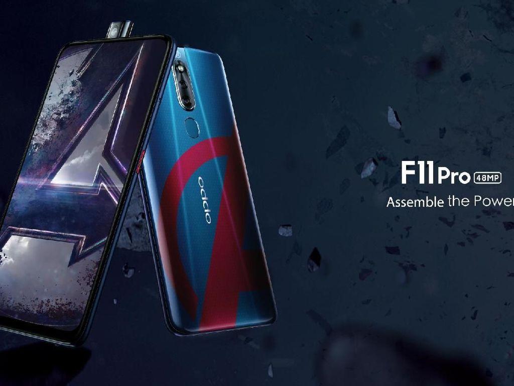 Lusa, Oppo F11 Pro Edisi Avengers Diperkenalkan di Indonesia