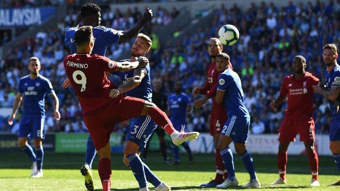 Menang atas Cardiff City, Liverpool menorehkan rekor poin di Premier League (Foto: Stu Forster/Getty Images)