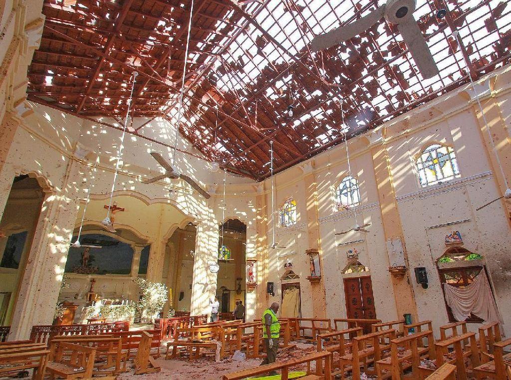 Kepala Kepolisian Sri Lanka Ditangkap karena Gagal Cegah Bom Paskah