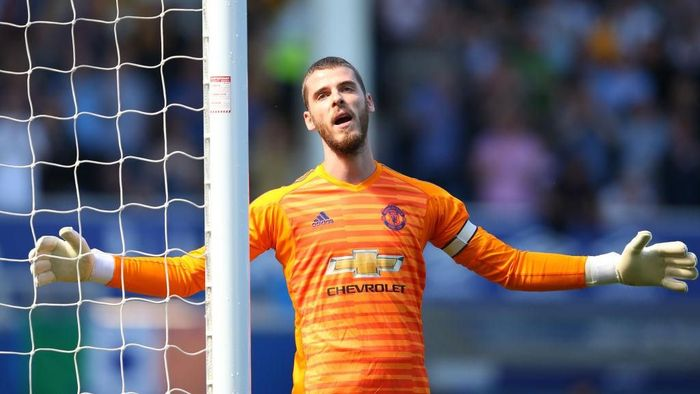 Manchester United dikabarkan siap mengajukan penawaran baru kepada David de Gea terkait pembaruan kontrak (Foto: Alex Livesey/Getty Images)