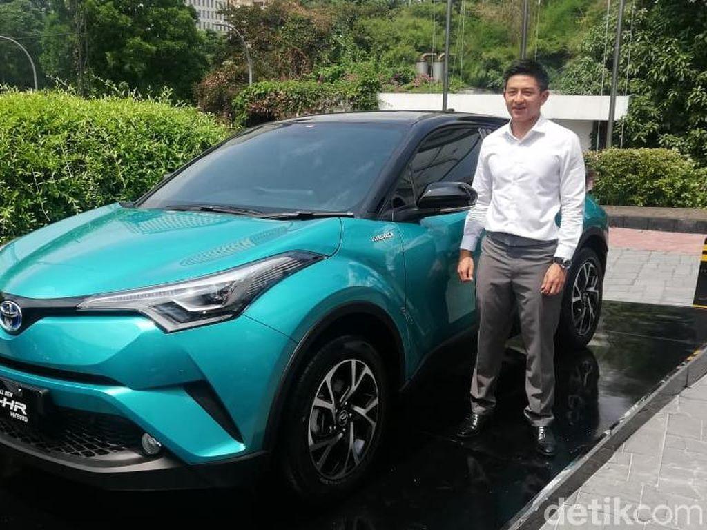 Toyota Bidik 40 Unit C-HR Hybrid Terjual Tiap Bulan