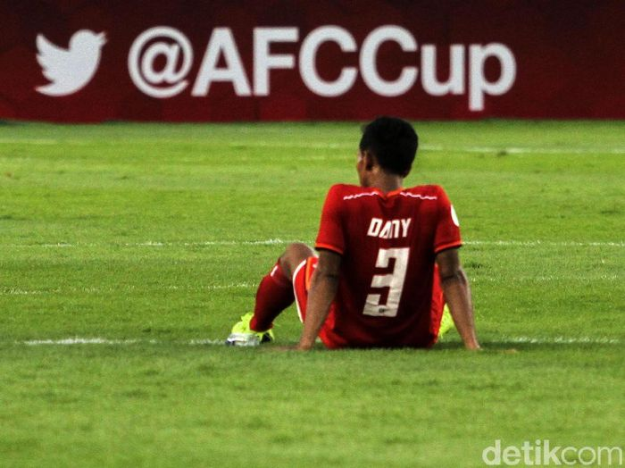 Usai dikalahkan Ceres Negros, Persija Jakarta belum menyerah mengejar tiket ke fase knock out Piala AFC. (Rifkianto Nugroho)