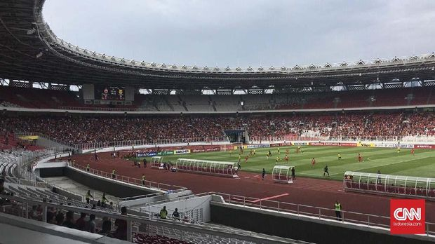 Pemain Persija Sedih Stadion BMW Terancam Batal Dibangun