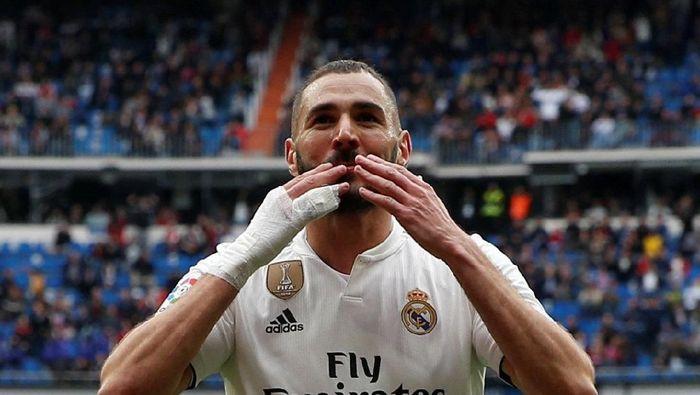 Karim Benzema lebih tajam ketimbang Cristiano Ronaldo musim ini (Susana Vera/REUTERS)