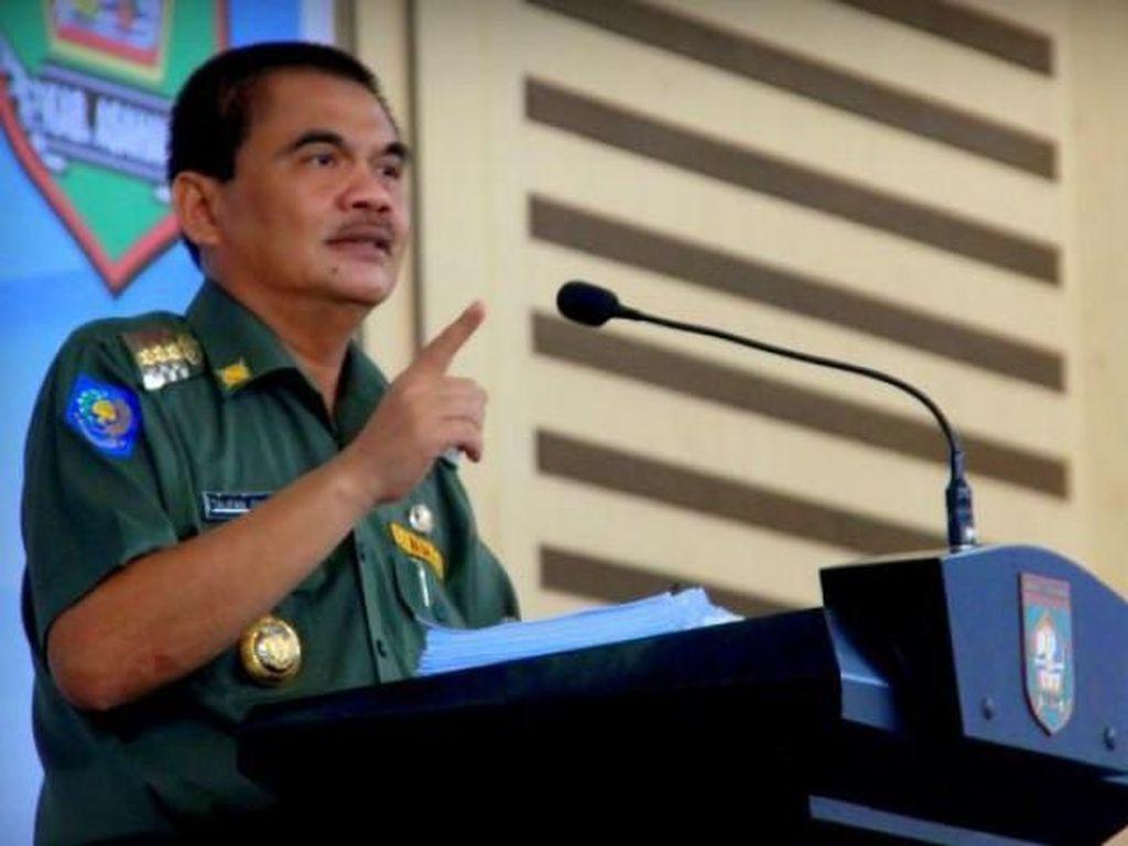 Gubernur Sumut hingga Walkot Medan Hadiri Pemakaman Bupati Asahan