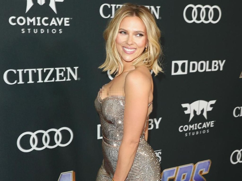 5 Pesona Scarlett Johansson Black Widow Promosikan Avengers: Endgame