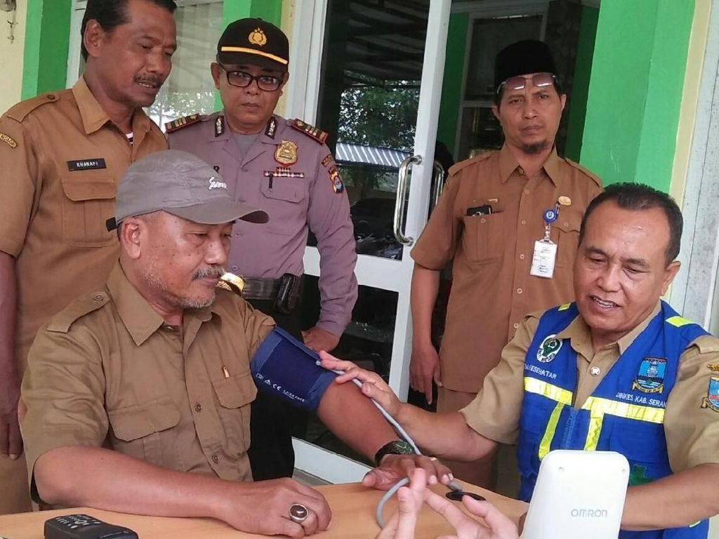 Petugas KPPS di Kabupaten Serang Dapat Layanan Kesehatan Gratis