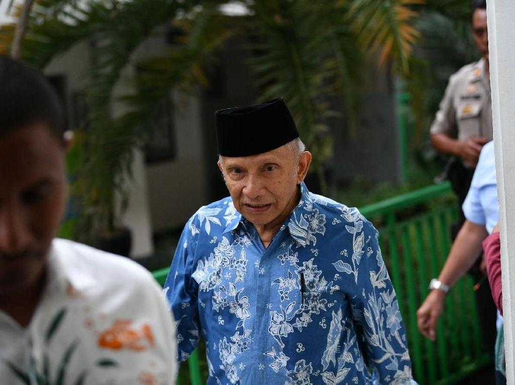 Semboyan Partai Baru Amien Rais: Lawan Kezaliman, Tegakkan Keadilan!