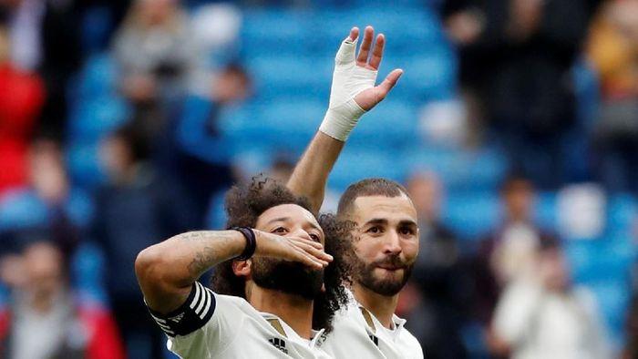 Marcelo setia Real Madrid meski diminati Real Madrid (Susana Vera/REUTERS)